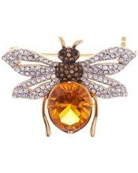 Nadri - Stone Bee Pin - Lyst
