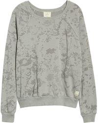 Maaji Sleek Camo Granite Sweatshirt - Gray