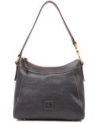 Dooney & Bourke Large Cassidy Leather Hobo - Grey