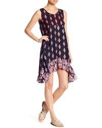 b97e21b95253 Raga - Alice Sharkbite Hem Sleeveless Dress - Lyst