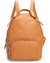 Ted Baker Orilyy Leather Backpack - Brown