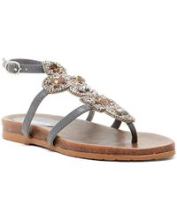 Kenneth Cole Reaction | Chase Me Beaded Sandal | Lyst