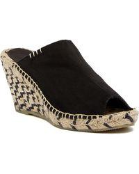 Patricia Green - Shania Platform Wedge Sandal - Lyst