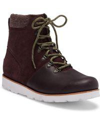 UGG Halfdan Suede Hiking Boot - Brown