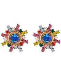 Loren Hope Isabel Stud Earrings - Multicolor
