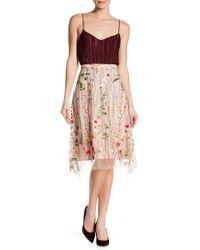 Eva Franco - Lafayette Embroidered Skirt - Lyst