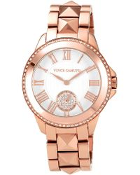 Vince Camuto - Women's Leopard Dial Bracelet Watch, 34mm - Lyst