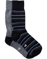 Frye - Novelty Crew Socks - Pack Of 2 - Lyst