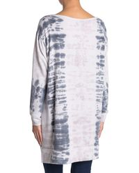 Go Couture High/low Boatneck Tunic Top - White