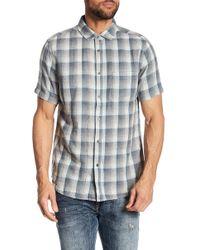 Jeremiah - Clark Reversible Plaid Shirt - Lyst