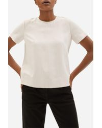 Everlane The Japanese Goweave Swing Tee - Multicolor