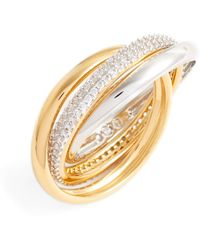 Nadri - Trinity Pave Ring - Size 5 - Lyst