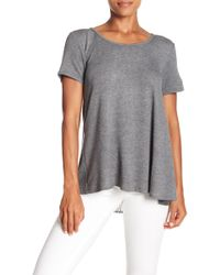 Bobeau - French Terry Tie Back Top - Lyst