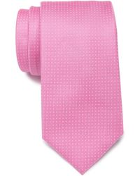 Nautica Tulane Grid Tie - Pink