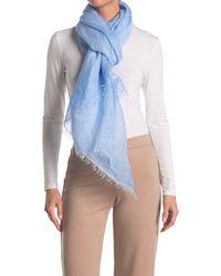 Eileen Fisher Maltinto Modal Organic Linen Scarf - Blue