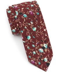 Original Penguin Liberty Floral Tie - Red