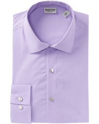 Kenneth Cole Reaction - Solid Slim Fit Dress Shirt - Lyst