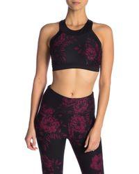 Donna Karan - Floral Sports Bra - Lyst