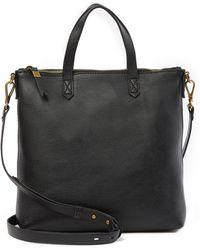 Madewell - Transport Leather Crossbody Bag - Lyst