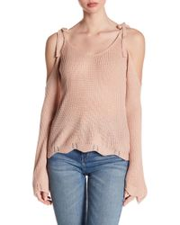 Fate - Cold Shoulder Sweater - Lyst