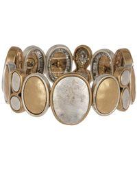 The Sak - Two-tone Organic Stretch Bracelet - Lyst