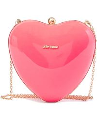 Betsey Johnson - Hearts Don't Lie Clutch - Lyst