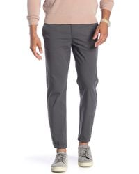 Theory - Zaine Solid Stretch Pants - Lyst