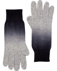 Skull Cashmere | Pico Dip-dyed Cashmere Gloves | Lyst