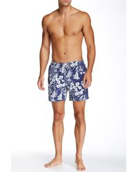 Gant Rugger - O. Indigo Flower Swim Boxer - Lyst