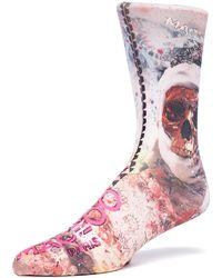 Maceoo - Socks - Skull - Lyst