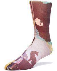Maceoo - Socks - Cat - Lyst