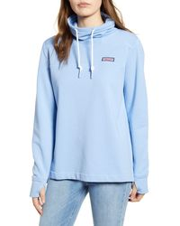Vineyard Vines Shep Funnel Neck Pullover - Blue