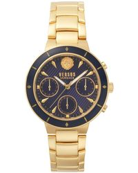 Versus Harbour Heights Chronograph Bracelet Watch, 38mm - Metallic