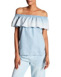 Soft Joie - Vilma Chambray Blouse - Lyst