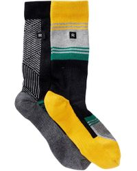 Richer Poorer | Assorted Crew Socks - Pack Of 2 | Lyst
