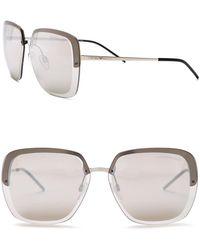 Emporio Armani - Geo 62mm Sunglasses - Lyst