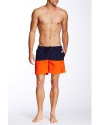 Gant Rugger - C. Cut & Sewn Swim Trunk - Lyst