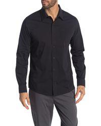 Travis Mathew - Rissey Long Sleeve Button Down Shirt - Lyst