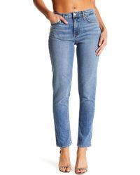 Michelle By Comune - Mid Rise Straight Leg Jeans - Lyst