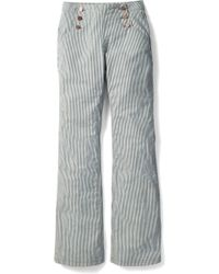 Boden - Southampton Ticking Stripe Sailor Jeans - Lyst