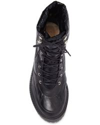 Schutz Amaris Puffer Hiking Boot - Black