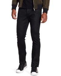John Varvatos | Stud Embellished Wight Fit Jeans | Lyst