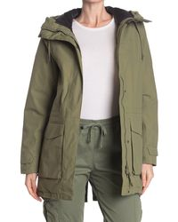 Helly Hansen Nova Light Waterproof Insulated Rain Parka Jacket - Green