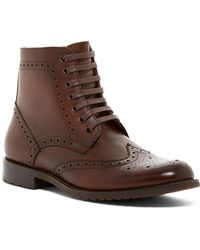 English Laundry - Viola Wingtip Boot - Lyst