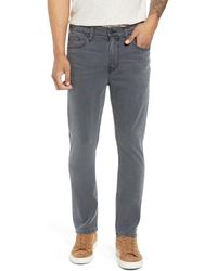 PAIGE Federal Slim Straight Leg Jeans - Grey