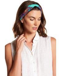 Cara - Beaded Knotted Headband - Lyst