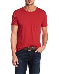 7 For All Mankind - Short Sleeve Crew Neck Tee - Lyst