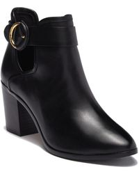 Ted Baker - Sybell Leather Bootie - Lyst