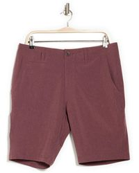 7 Diamonds Velocity Hybrid Shorts - Purple