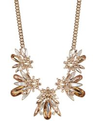 Givenchy - Stone Cluster Drama Collar - Lyst